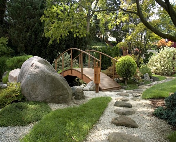 Feng shui for the garden for Feng shui garden layout
